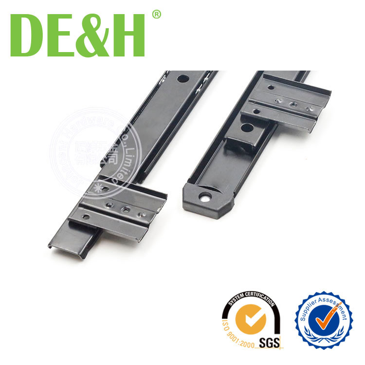 27mm width two fold keyboard drawer slide