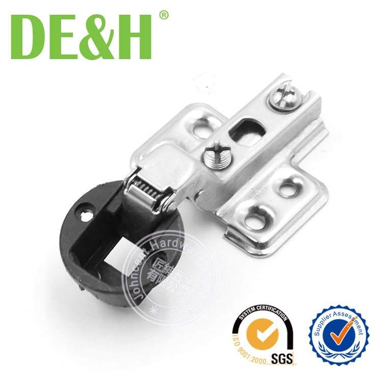 26mm DE&H mini cup glass hinge for door and cabinet