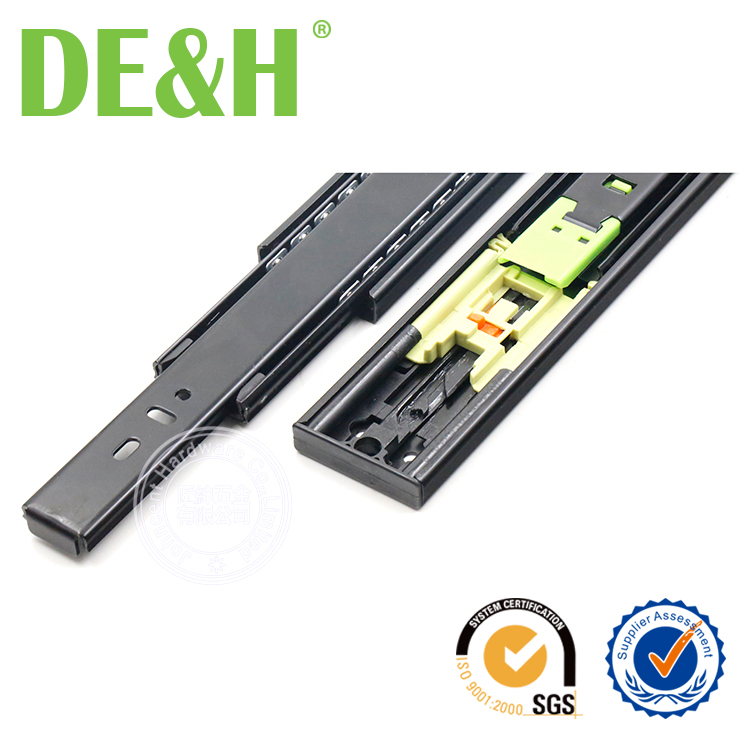 45mm FULL EXTENSION TOUCH TO OPEN drawer slide