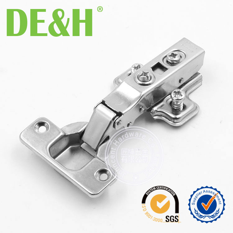 18mm Hydraulic Fast assembly clip on hinges with euro screw