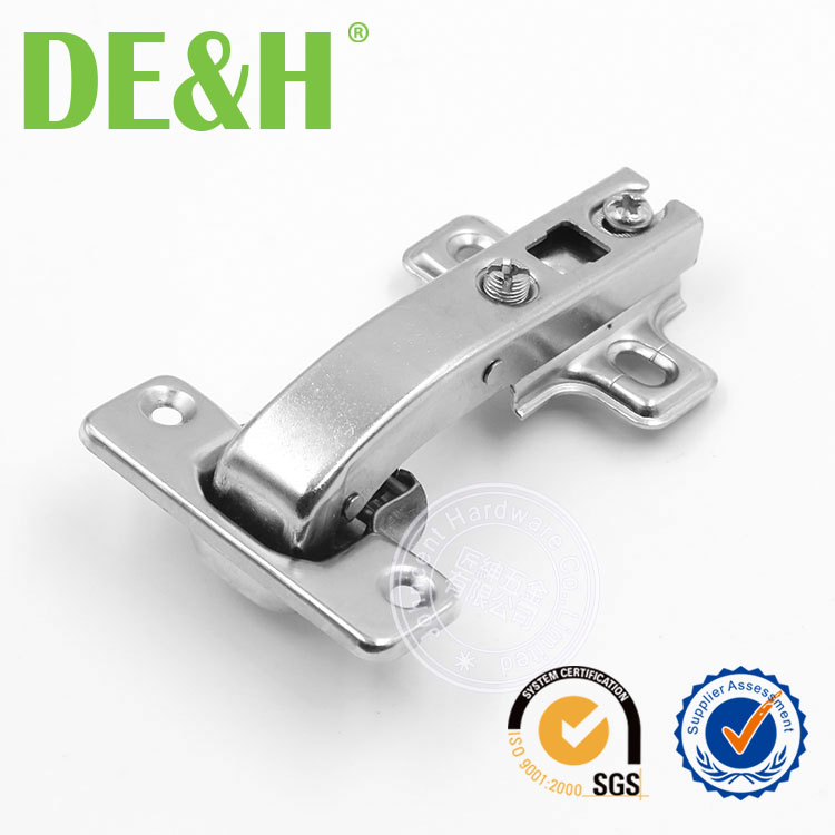 In stock 90 degree angle soft close corner concealed hinge
