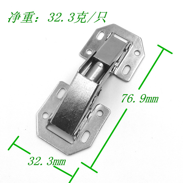 BRIDGE TYPE FROG CABINET HINGES 3 inches frog hinge