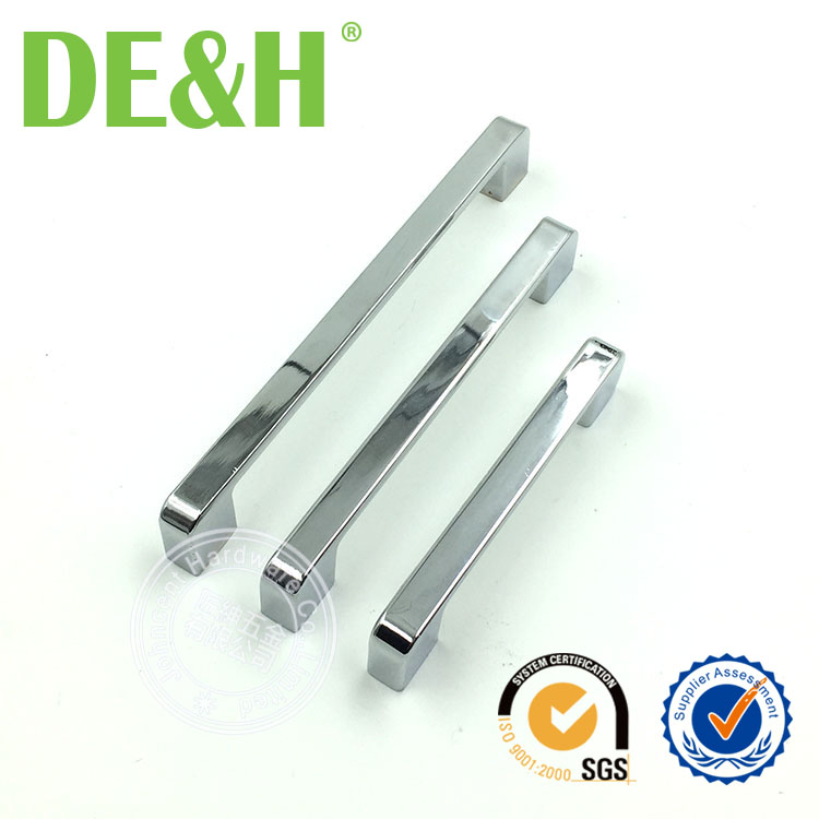 In stock small MOQ Foshan furniture handle zinc drawer handle