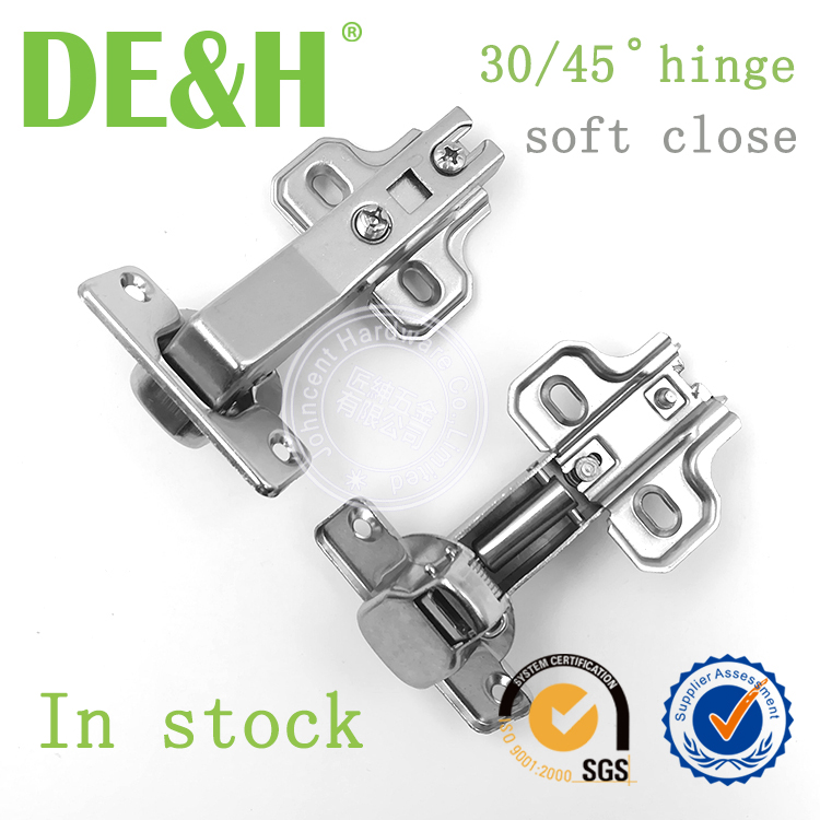 Hydrauilc 45 degree angle hinge Furniture Accessories Fittings